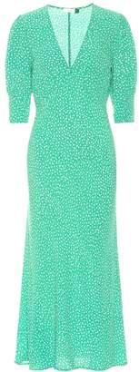 Rixo Zadie micro floral maxi dress