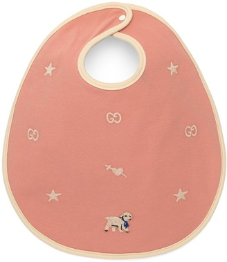 Gucci Baby bib with lamb