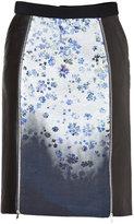 Preen Ilex Skirt in White Flower