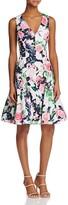Betsey Johnson Floral-Print Dress