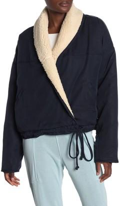 Free People Reversible Faux Shearling Jacket