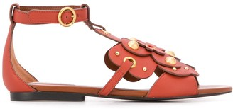 See by Chloe Studded Flower Sandals