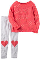 Carter's 2-Piece Love You Top & Legging Set