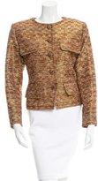 Saint Laurent Patterned Silk Jacket