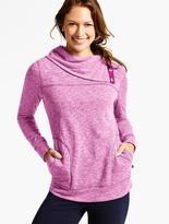 Talbots Snap-Cowlneck Top