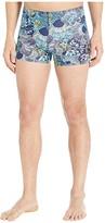 Speedo Printed Square Leg (Peacoat) Men's Swimwear
