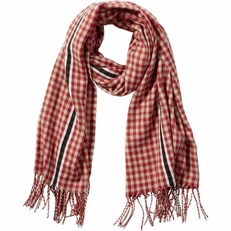 Tickled Pink Women's Fringe Scarf