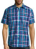 Robert Graham Wells Classic-Fit Short Sleeve Shirt