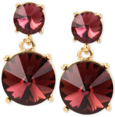 Kenneth Cole New York Gold-Tone Stone Drop Earrings