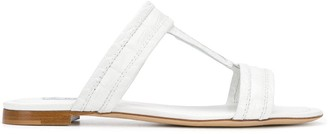 Tod's Opposing T-strap sandals