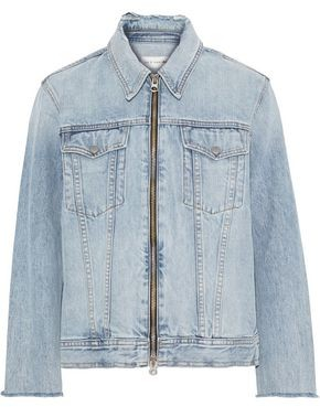 Rag & Bone Mandy Zip-detailed Denim Jacket