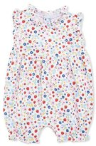Kissy Kissy Strawberry Delight Overall Playsuit, Red/White, Size 3-18 Months