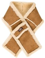 UGG Suede Shearling Scarf