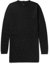 Rick Owens Oversized Boiled Cashmere Sweater