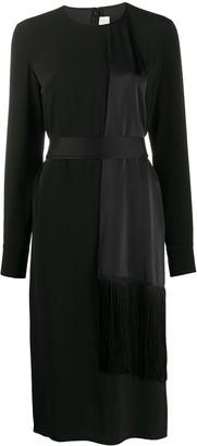 Victoria Victoria Beckham Panelled Tie-Waist Dress