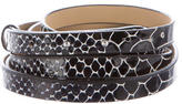 Diane von Furstenberg Haley Double Wrap Belt w/ Tags