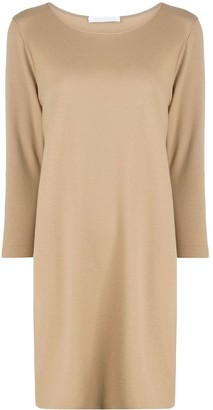 Harris Wharf London Long-Sleeve Jumper Dress