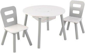 Kid Kraft Round Storage Table & Chair 3-piece Set