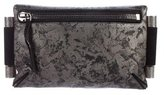 Devi Kroell Metallic Bar Clutch