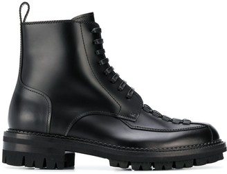 DSQUARED2 Braided Detail Ankle Boots