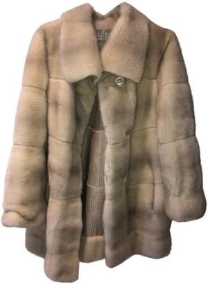 Christian Dior Beige Mink Coat for Women Vintage