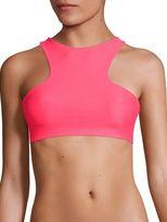 Mikoh Swimwear Barbados Racerback Bikini Top