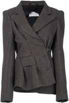 Maison Margiela boxy tweed jacket