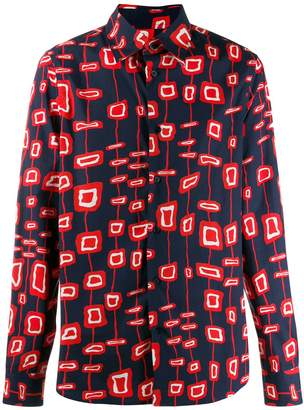 Marni printed button-up shirt