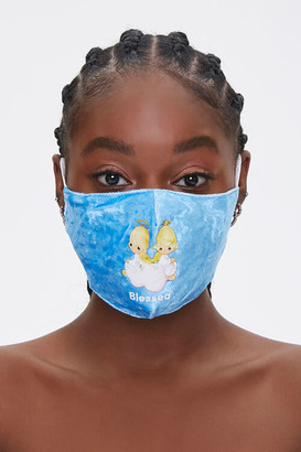 Forever 21 Precious Moments Graphic Face Mask