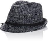 Hat Attack WOMEN'S KNIT SHORT-BRIM FEDORA