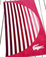 Lacoste Sunset Towel, Pink