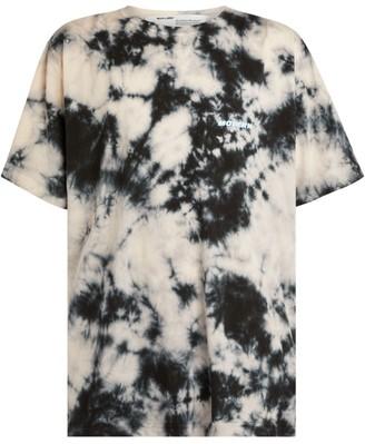 Off-White Oversized Tie-Dye T-Shirt