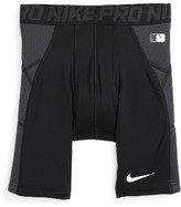 Nike Boy's Pro Hyperstrong Heist Compression Dri-Fit Shorts