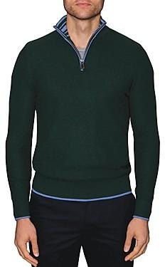 Tailorbyrd Jamal Quarter-Zip Sweater