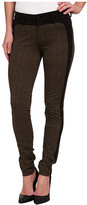 Liverpool Felicia Tweed Leggings w/ Tuxedo Trim