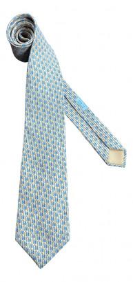 Hermes Yellow Silk Ties