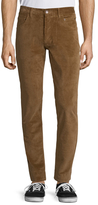 Jachs Woven Cotton Corduroy Pants