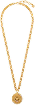 Versace Gold Crystal Tribute Necklace