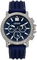 Izod Mens Blue Strap Watch-Izo9055jc