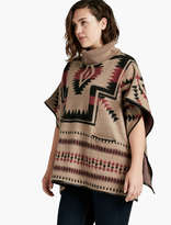 Lucky Brand Aztec Poncho