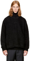 Song For The Mute Black Bouclé Sweater