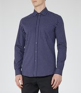 Reiss New Collection Madano Checked Cotton Shirt