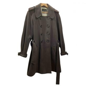 Et Vous Brown Wool Coat for Women