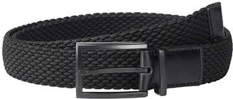 Calvin Klein 32 mm Stretch Woven (Black) Men's Belts