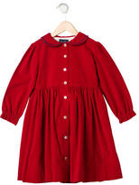 Oscar de la Renta Grils' Corduroy Long Sleeve Dress w/ Tags