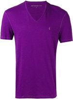 John Varvatos V-neck T-shirt - men - Cotton - S