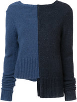 ADAM by Adam Lippes bicolour jumper - women - Cashmere/Merino - S