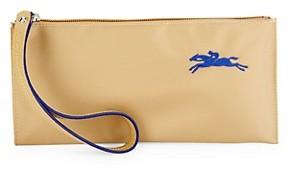 Longchamp Logo Top Zip Wristlet