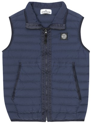 Stone Island Junior Quilted down vest