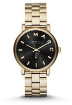 Marc Jacobs Baker Gold Tone Watch